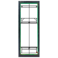 "Frank Lloyd Wright Stained Glass Window ""Northome House"" LightScreen 1912 prarie"