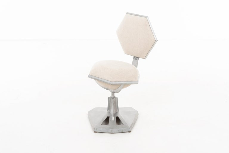 Mid-Century Modern Frank Lloyd Wright Price Tower Revolving Chair For Sale