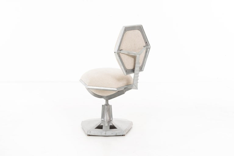 Cast Frank Lloyd Wright Price Tower Revolving Chair For Sale