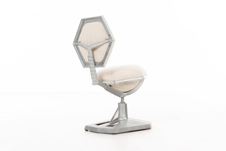 Mid-20th Century Frank Lloyd Wright Price Tower Revolving Chair For Sale