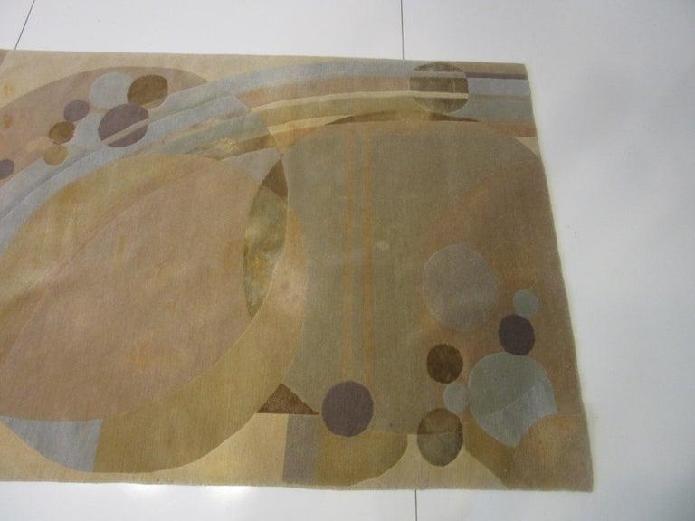 Mid-Century Modern Frank Lloyd Wright Rug