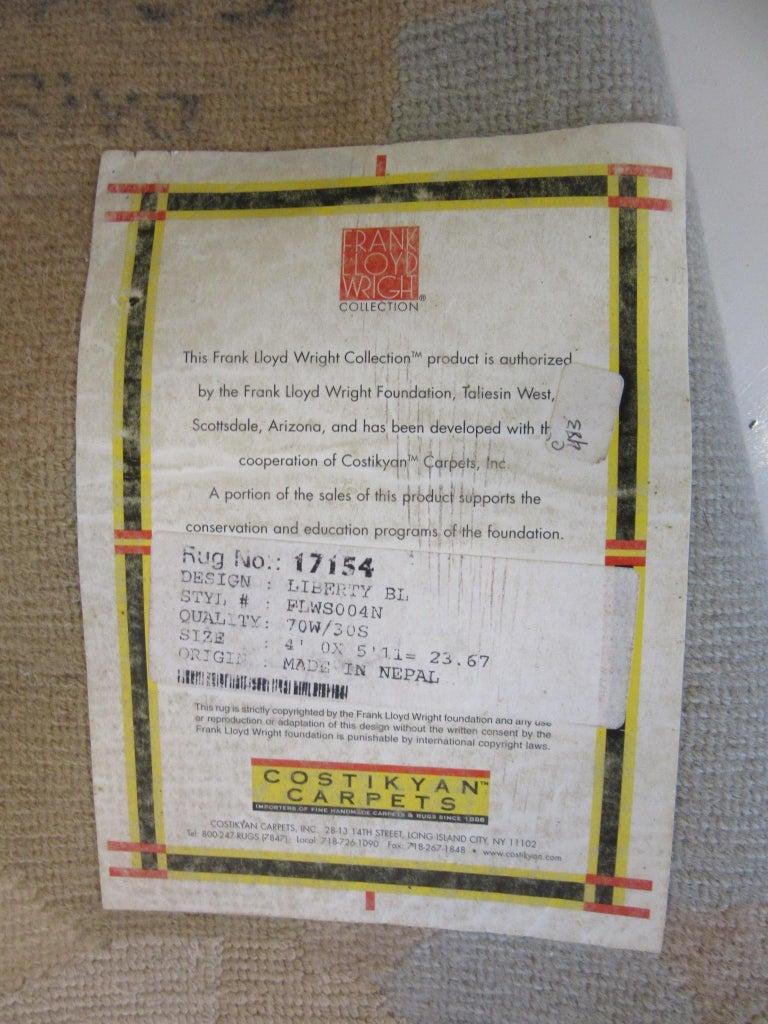 Wool Frank Lloyd Wright Rug