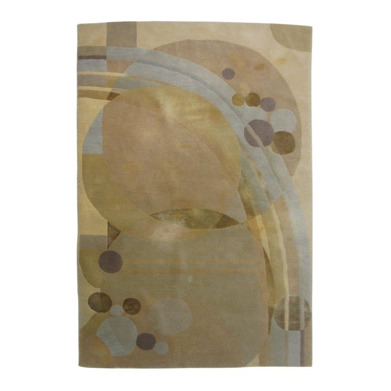 """Frank Lloyd Wright Rug """"Liberty Balloons 2"""" by Costikyan Carpet Co. For Sale"""