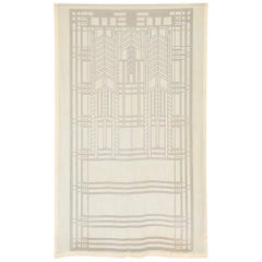 Frank Lloyd Wright Schumacher Sheer Textile Panel Curtain, Drape, Tapestry, 1955
