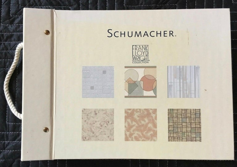 Frank Lloyd Wright Schumacher wallcovering books catalogue reference 1986-1999 - 'Prints inspired by nature'