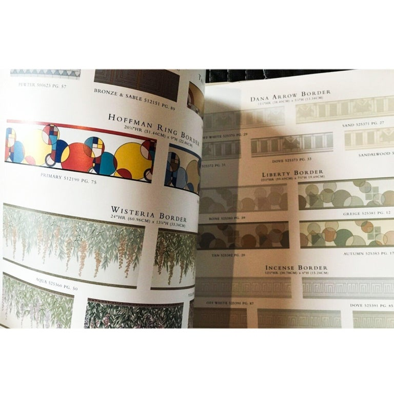 Mission Frank Lloyd Wright Schumacher Wallcovering Catalogue Reference, 1986 1999 For Sale