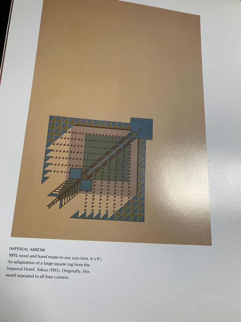 Frank Lloyd Wright Schumacher Wallcovering Fabric Book Catalogue Reference Set For Sale 1