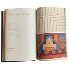 Frank Lloyd Wright Schumacher Wallcoverings Catalogue Reference Book 1986