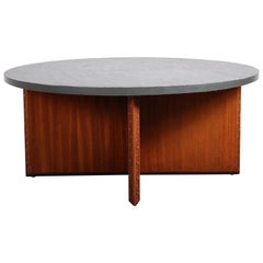 "Frank Lloyd Wright Slate Top ""Taliesin"" Table"