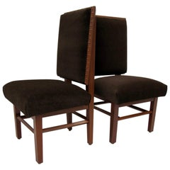 Frank Lloyd Wright Suite of Ten Henredon Dining Chairs, circa 1955