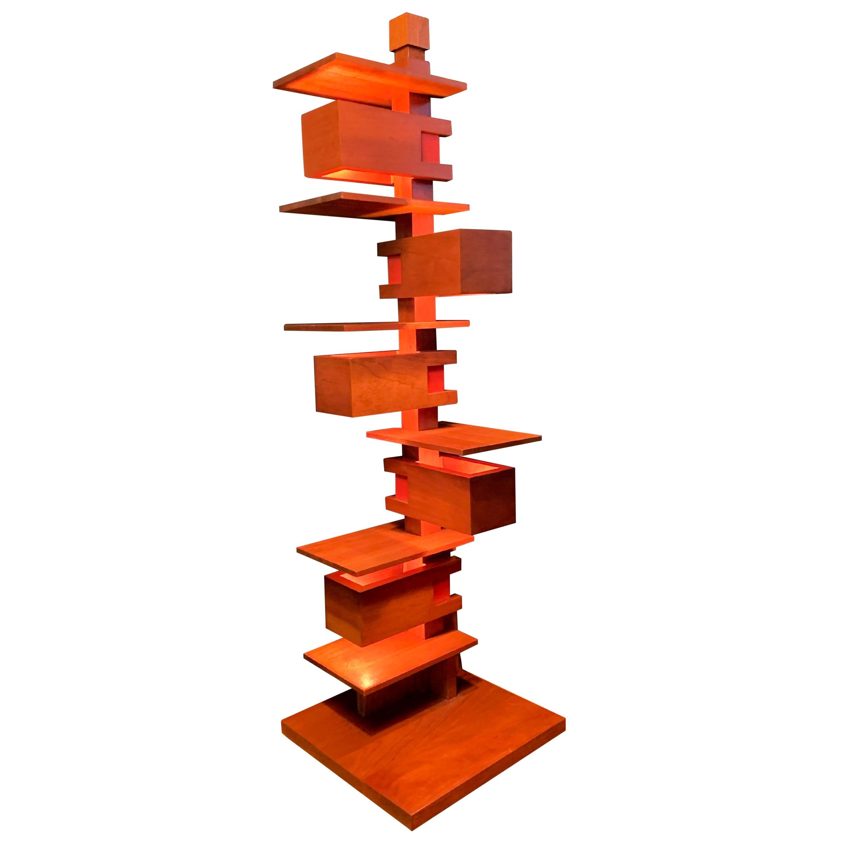 "Frank Lloyd Wright ""Taliesin 3"" Table Lamp, Yamagiwa, 1994"