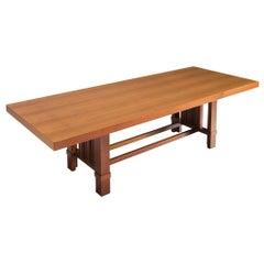 Frank Lloyd Wright 'Taliesin' 608 Dining Table in Cherry