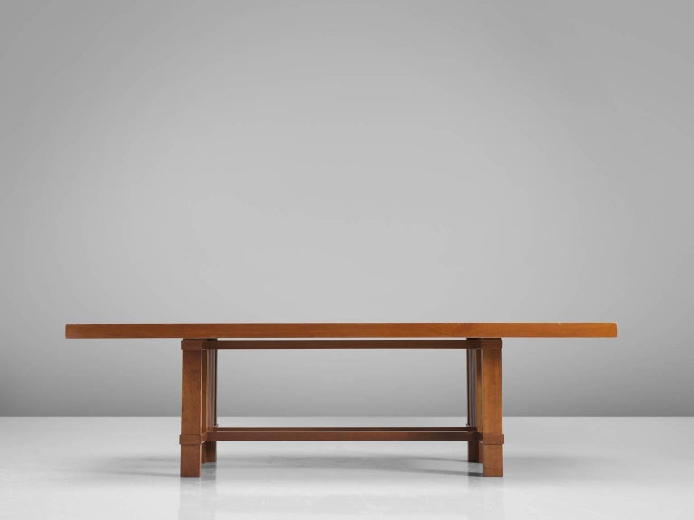American Frank Lloyd Wright 'Taliesin' Dining Table for Cassina For Sale