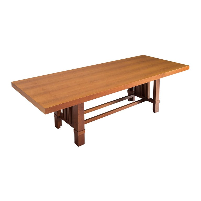 Frank Lloyd Wright 'Taliesin' Dining Table for Cassina For Sale