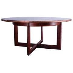 Frank Lloyd Wright Taliesin Game Table with Leaf