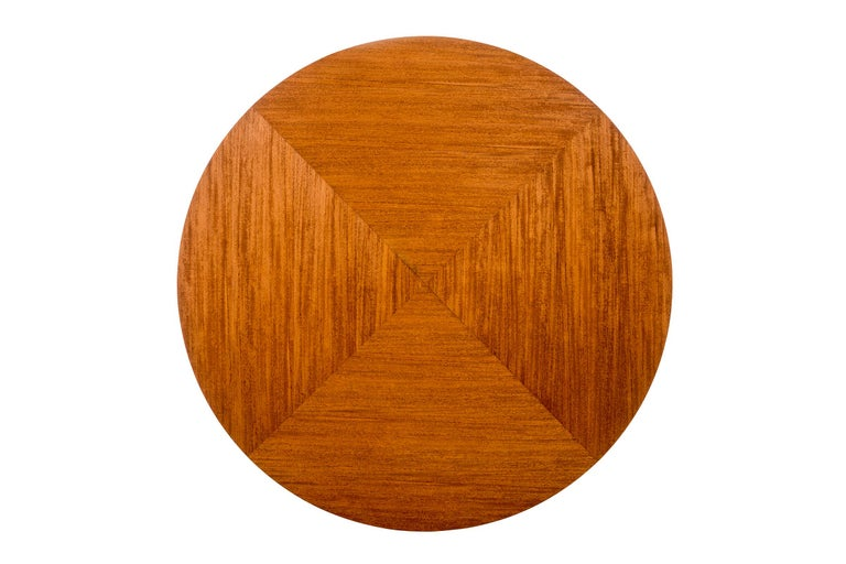 Mid-20th Century Frank Lloyd Wright Taliesin Low Round Dining Table For Sale