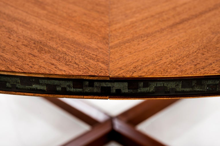 Frank Lloyd Wright Taliesin Low Round Dining Table For Sale 1