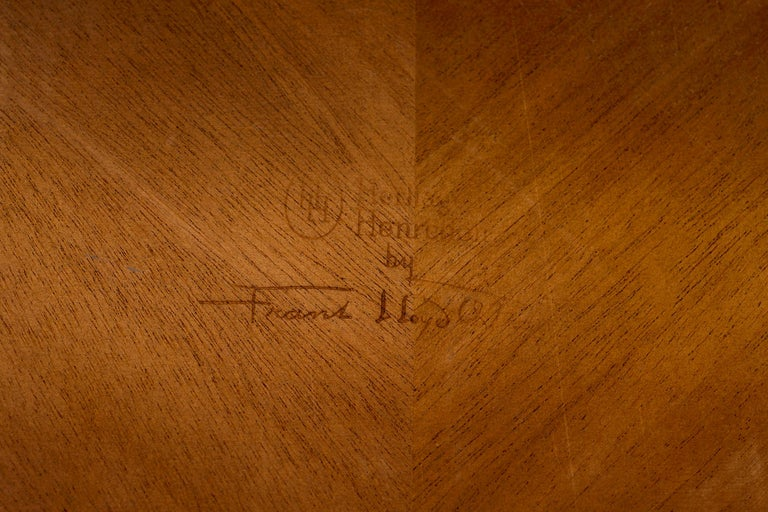 Frank Lloyd Wright Taliesin Low Round Dining Table For Sale 2