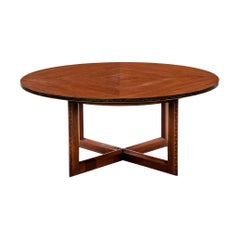 Frank Lloyd Wright Taliesin Low Round Dining Table