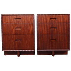 "Frank Lloyd Wright ""Taliesin"" Nightstands for Henredon"