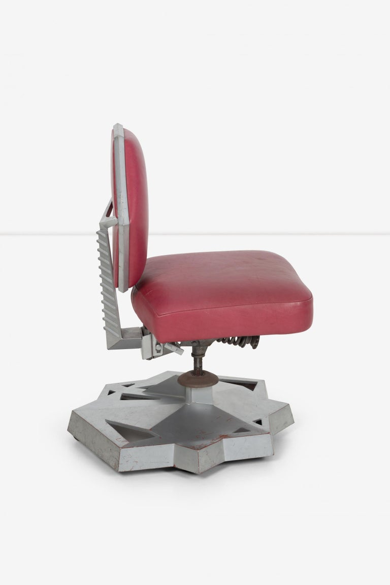 Frank Llyod Wright Price Tower Chair In Good Condition For Sale In Chicago, IL