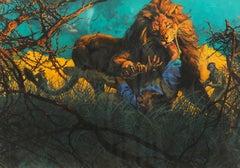 A Lion Mangled Me - A Man Eating Lion
