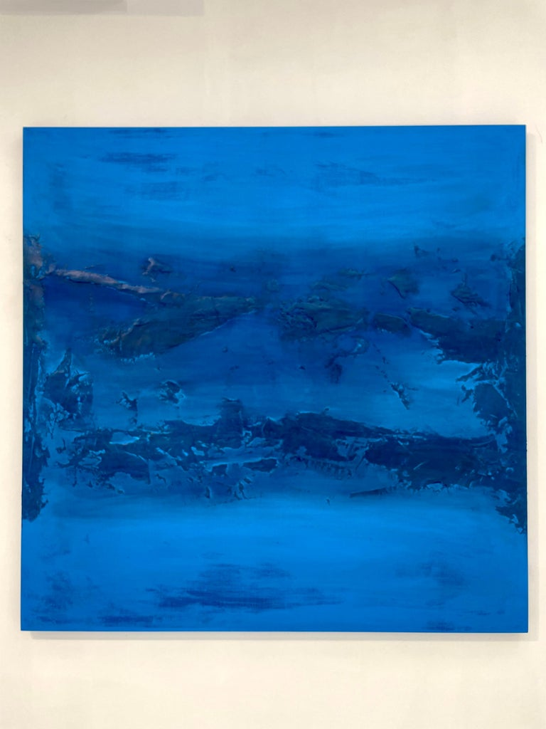 Frank Olt Abstract Painting - Landscape / Seascape