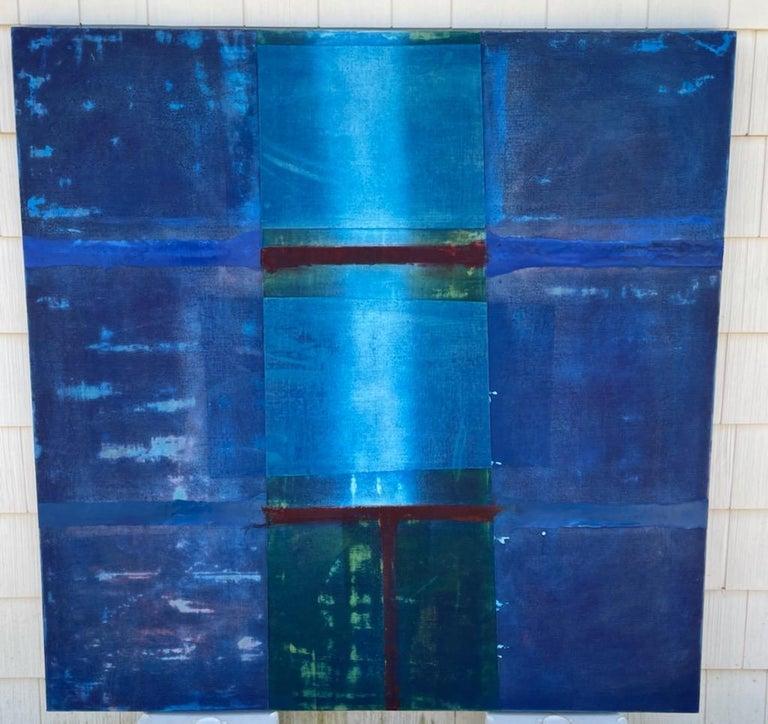 Frank Olt Abstract Painting - Span 202