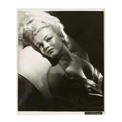 Marilyn Monroe by Frank Powolny, 'Angel', Vintage Photo owned by Lee Strasberg