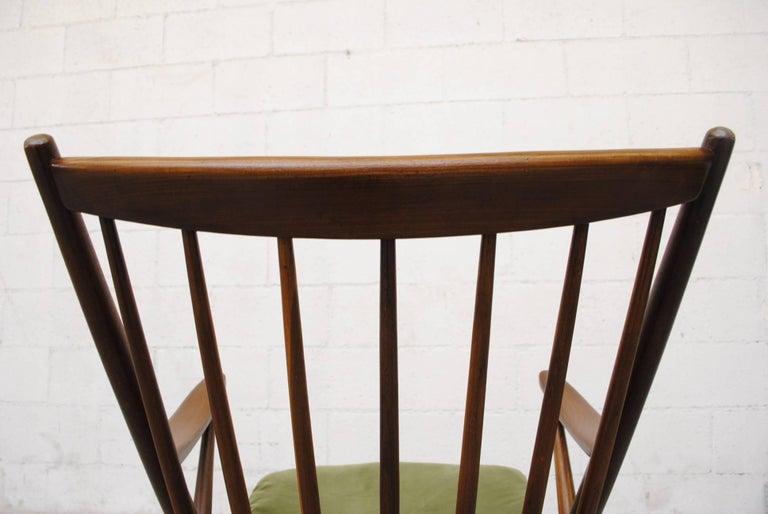 Frank Reenskaug for Bramin Møbler Danish Rocking Chair For Sale 5