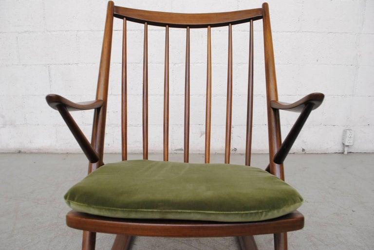 Frank Reenskaug for Bramin Møbler Danish Rocking Chair For Sale 2
