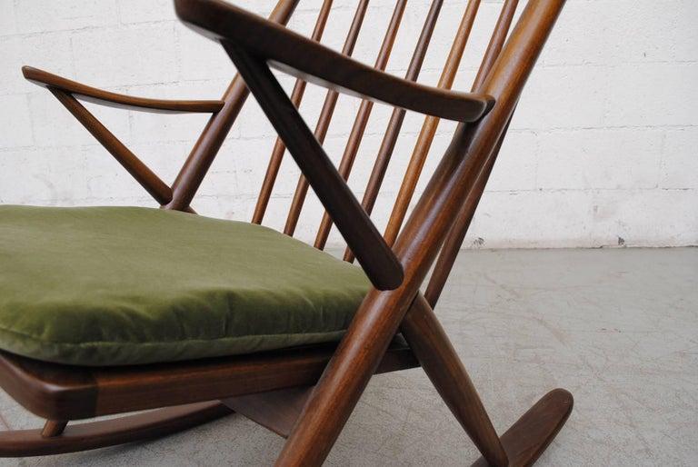 Frank Reenskaug for Bramin Møbler Danish Rocking Chair For Sale 3
