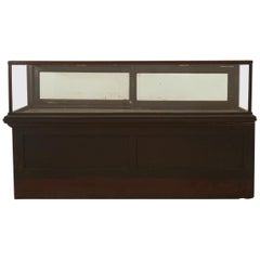 Frank Rieder & Sons Display Case with Mirrored Back Panels