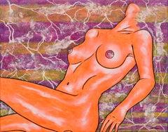 """""""Woman"""" by Aromas Artist Frank Romero"""