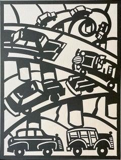 Freeway, by Frank Romero