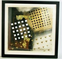 Abstract Geometric  Mixed Media # 1