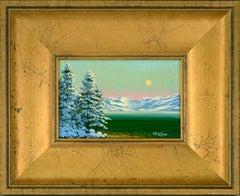 """""""Winter View"""" - Snowy Lake Tahoe Landscape"""