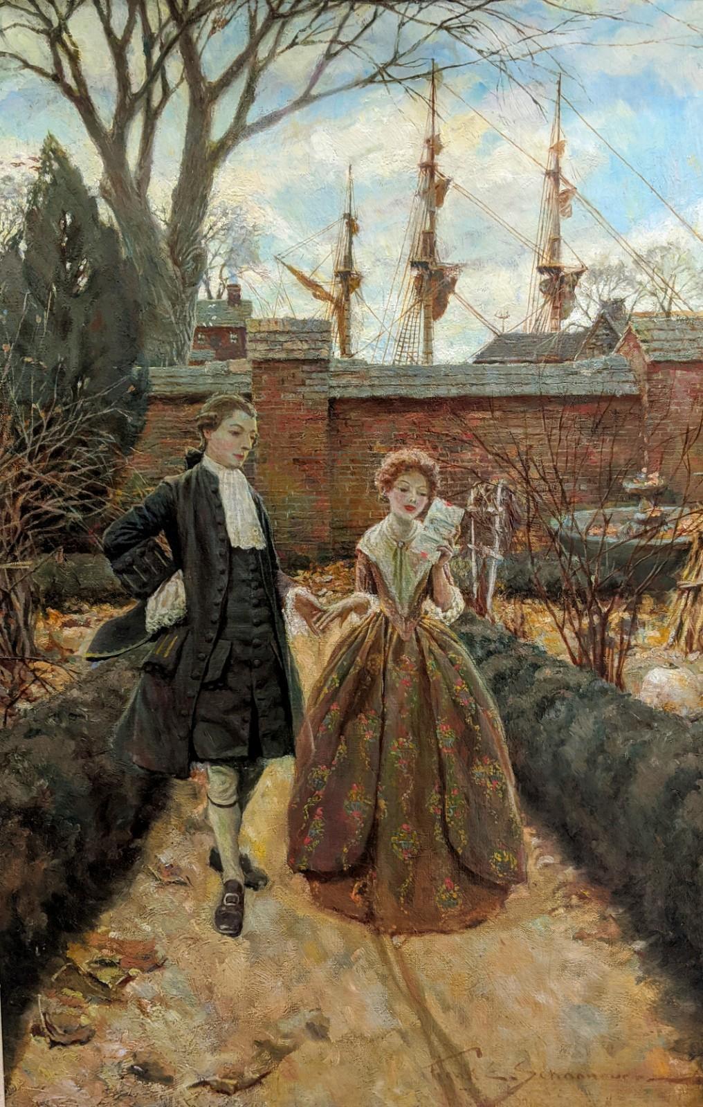 Colonial Philadelphia (Colonial Couple)