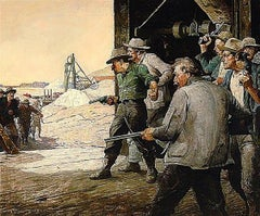 Who Made it an Issue of Six Shooters, (California Mine; Copper Sky)