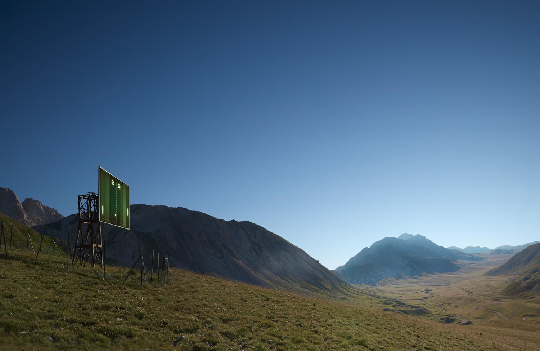 ATARI Imperatore 2020 Photograph of Epic Landscape in Italy Abruzzo