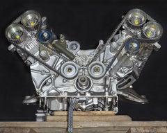 Automobili IV - large format photograph of iconic Ferrari Maranello V12 engine