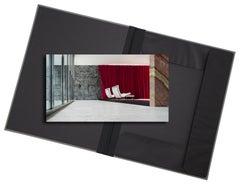 Barcelona - photograph in classic archival artwork portfolio gift binder