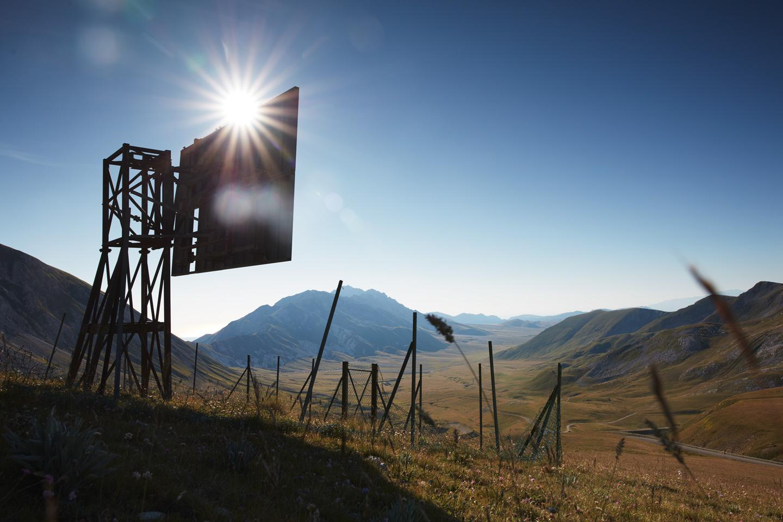 Campo Imperatore - large scale photograph of epic landscape in Abruzzo Italy