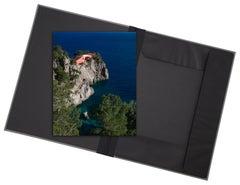 Casa Malaparte - photograph in classical archival artwork portfolio gift binder
