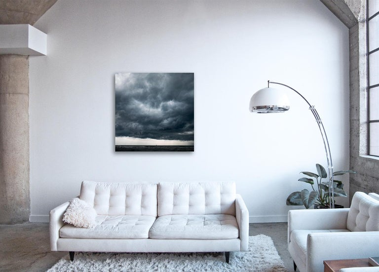 Cloud Study II - large format photograph of dramatic cloudscape sky - Print by Frank Schott