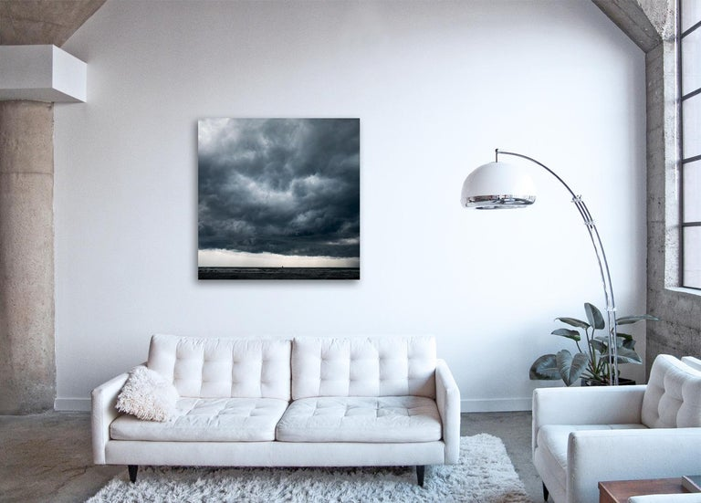 Cloud Study II - large format photograph of dramatic cloudscape sky - Contemporary Print by Frank Schott