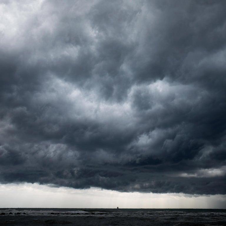 Frank Schott Landscape Print - Cloud Study II - large format photograph of dramatic cloudscape sky