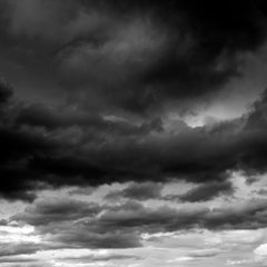 Cloud Study III - large format photograph of dramatic cloudscape sky