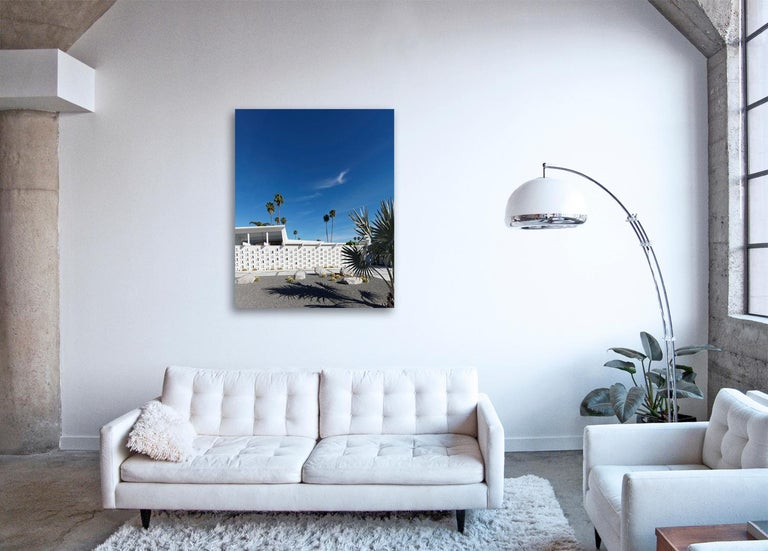 Palm Springs ( White ) - a study of iconic mid century desert architecture  - Contemporary Photograph by Frank Schott