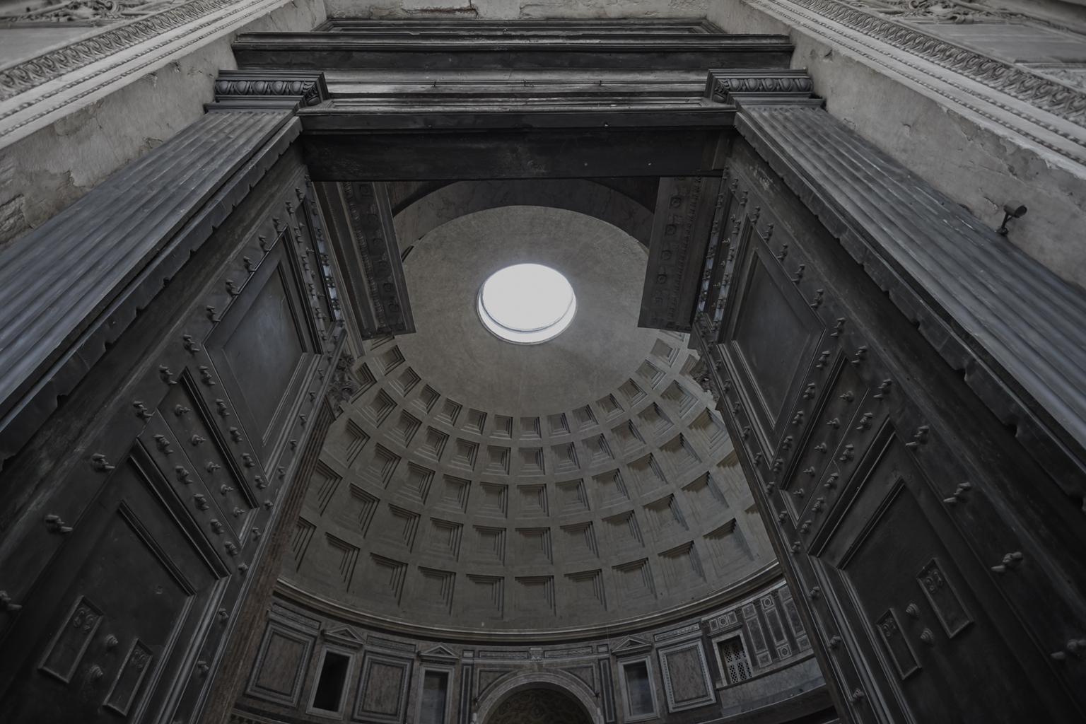 "Pantheon (Rome) 48 x 72"" / 122 x 183cm"